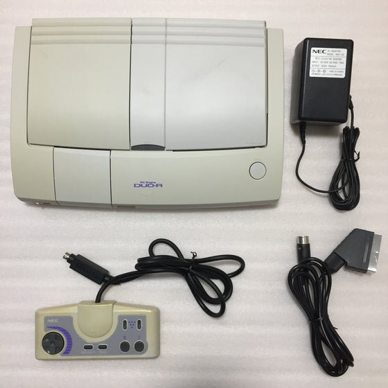 PC Engine Duo-R with RGB kit