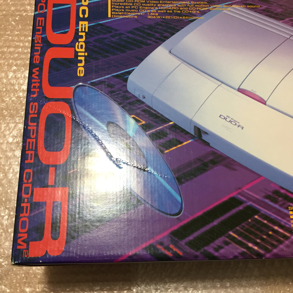 Boxed PC Engine Duo-R with RGB kit