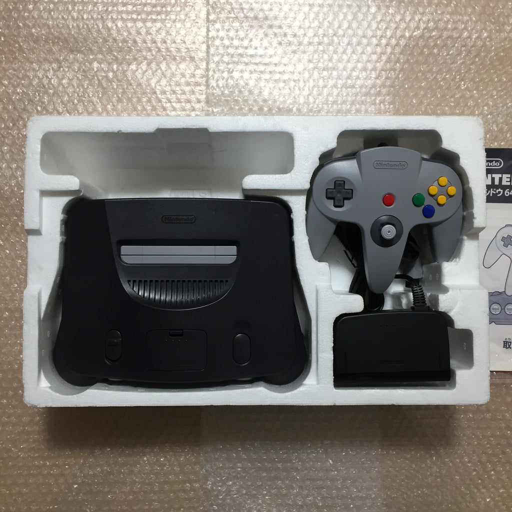 Nintendo 64 in box set with ULTRA HDMI kit - compatible with JP and US games - F-Zero X set