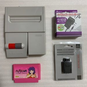 AV Famicom with NESRGB kit + NES adapter - Athena set