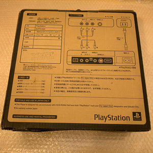 PS1 (SCPH-1000) set with PSIO