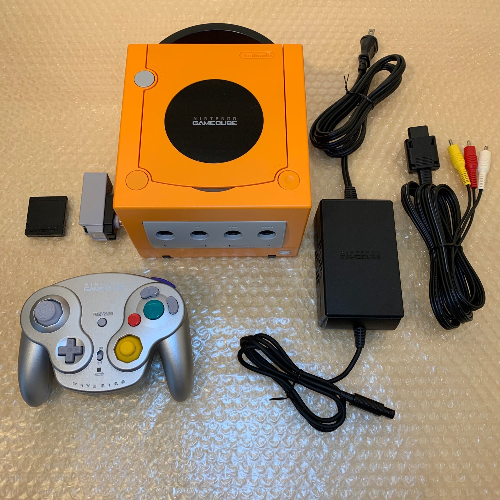 Gamecube with GC Loader set