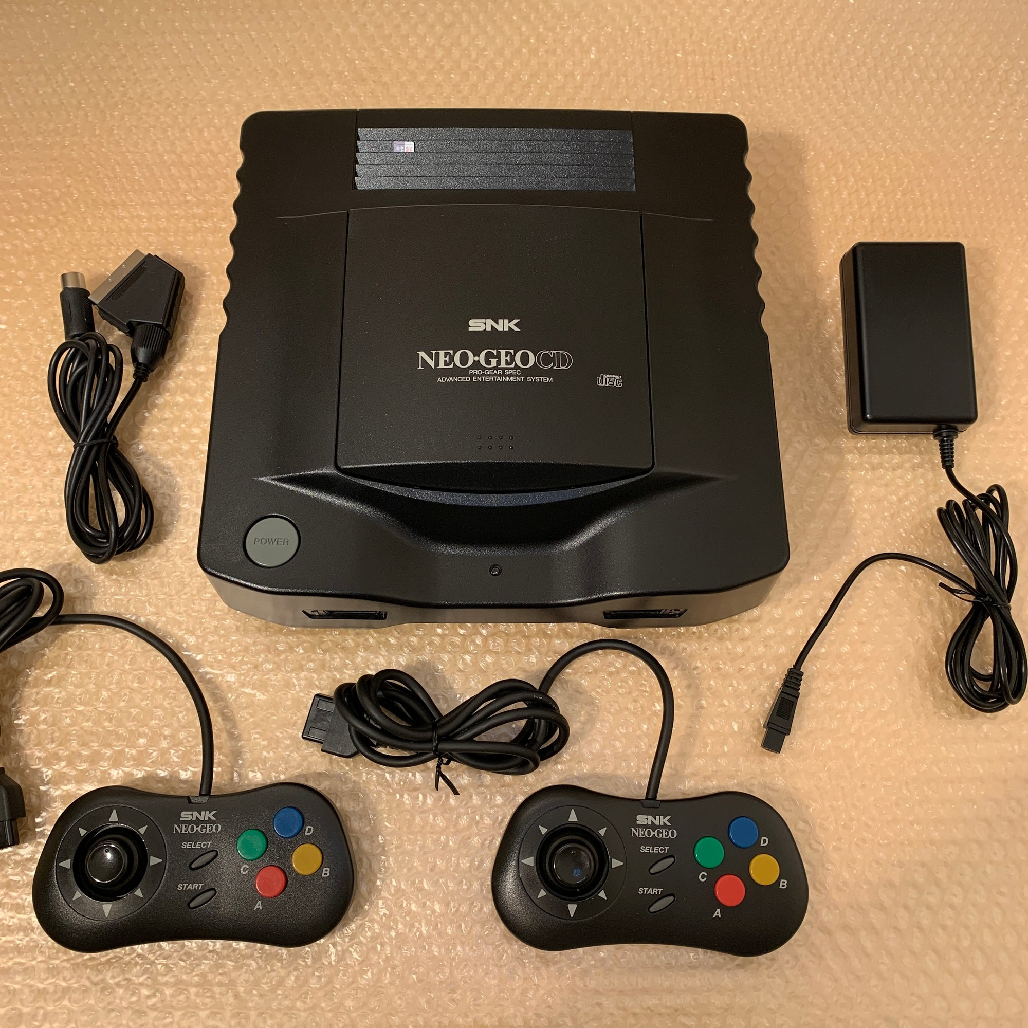 NeoGeo CD System with SD Loader