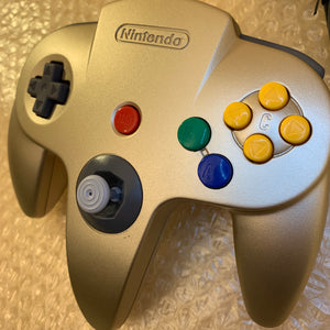 Gold Nintendo 64 set with ULTRA HDMI (HW2 with RGB) kit - compatible with JP and US games