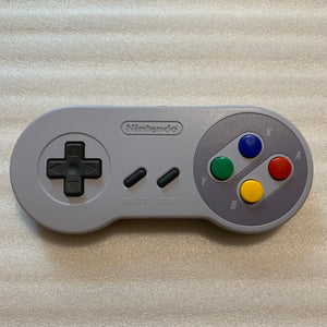 Super Famicom JR. with RGB kit and wireless controllers set