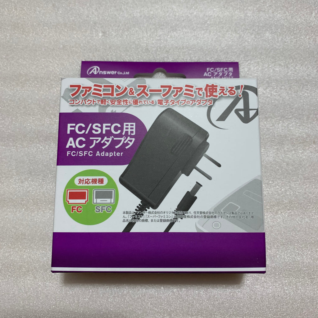 AV Famicom in box with NESRGB kit - NES adapter set