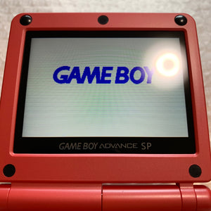 Game Boy Advance SP - Char Aznable model with IPS Backlight screen