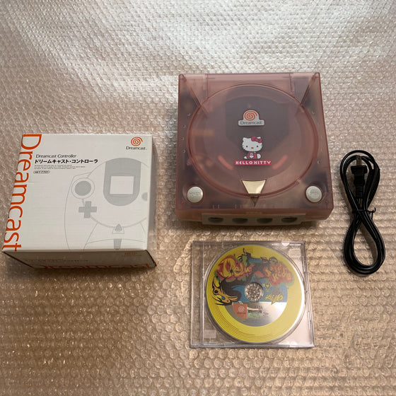 Hello Kitty Dreamcast set with DCHDMI kit - Region Free