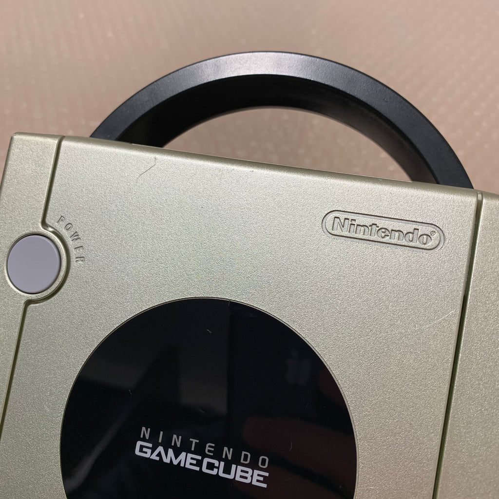 Gamecube System - Starlight Gold - Region free