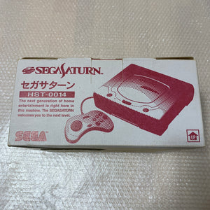Boxed Saturn - Region free /FRAM memory with RGB cable