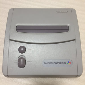 RGB modded Super Famicom JR. set