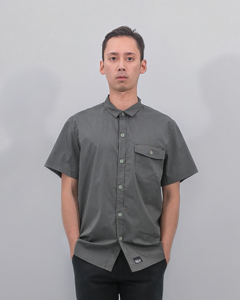 green workshirt