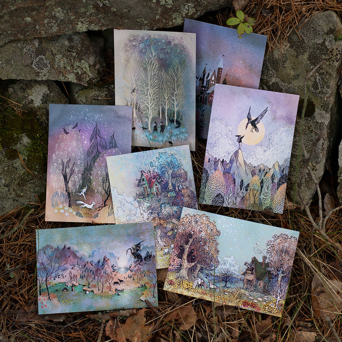Magic Tales: Postcard Set