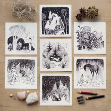 Load image into Gallery viewer, Wintertime: Card Set