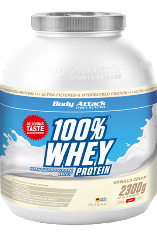 Picture of Body Attack 100% Whey Protein - 2,3 kg