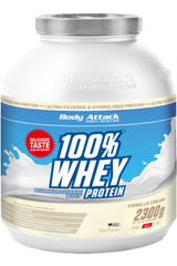 Body Attack 100% Whey Protein - 2,3 kg
