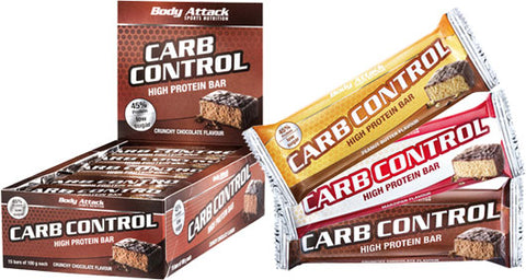 Picture of Body Attack Carb Control Riegel 15x 100g