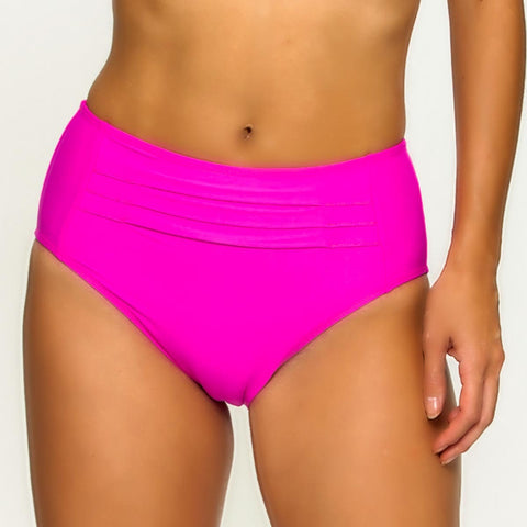 Tara Grinna Candy Mid Rise Bottom with Pleats - CA209