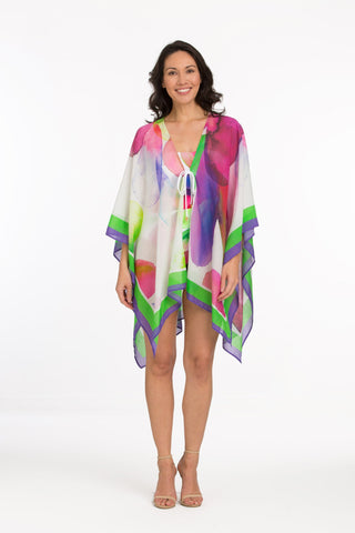 Tara Grinna Isabella Short Kaftan with Front Tie IS-466