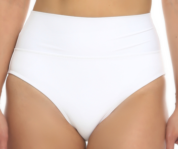 Tara Grinna White High-Rise Pant ND-213