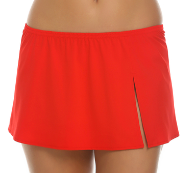 Tara Grinna Red Skirted Cover Up RE-412