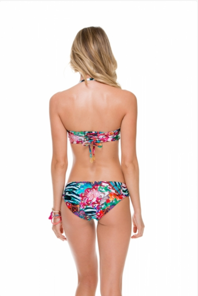 Luli Fama Side Tab Reversible Bottom - Like A Flame
