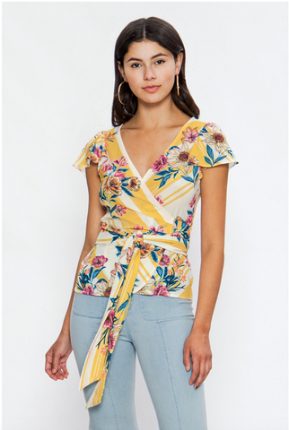 Forbes Wrap Top