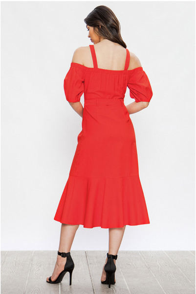 Tampa Dress - Red