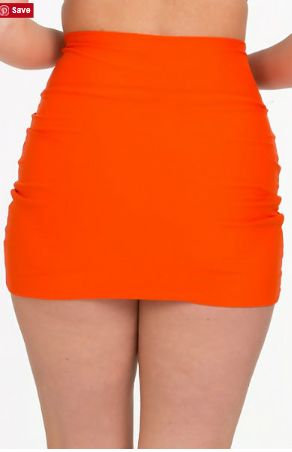 Tara Grinna Tangerine Skirted Pants TN 253