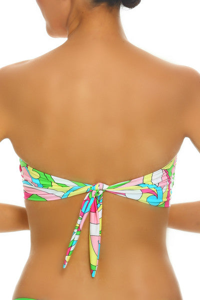 Tara Grinna Rabbit Beach Twist Bandeau - RA136