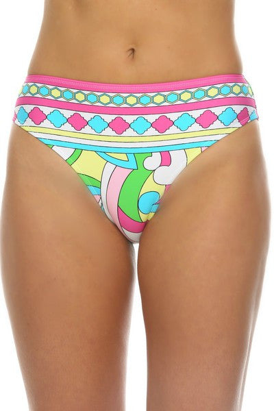 Tara Grinna Rabbit Beach Mid Rise Bottom - RA205