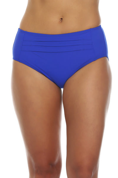 Tara Grinna Royal Blue Mid Rise with Pleats Bottom RY-209