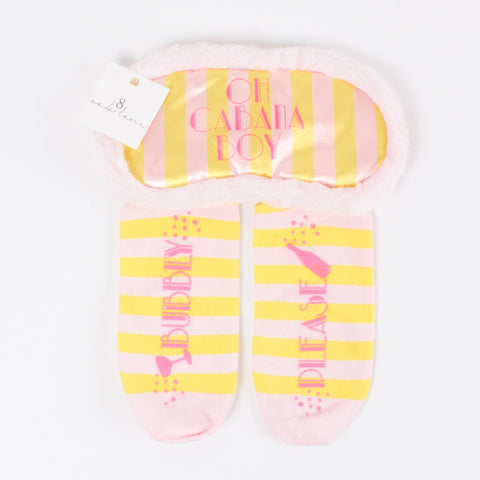 Sock and Eye Mask Set