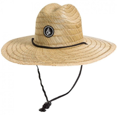 QUARTER STRAW HAT NATURAL