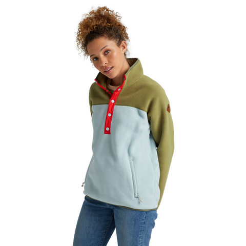 WOMENS HEARTH FLEECE PULLOVER