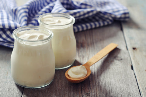 probiotic yogurt and supplements