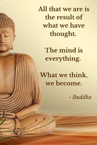 mind is everything buddha quote