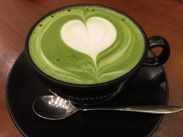 Matcha green tea - foods that help muscle recovery