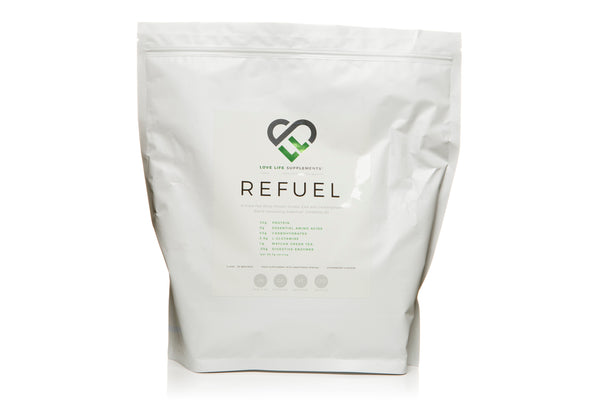 Love Life Supplements Refuel post workout protein shake - best supplements for muscle recovery