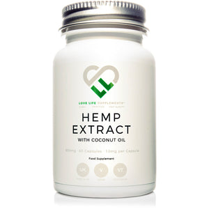Hemp Extract Capsules (CBD)