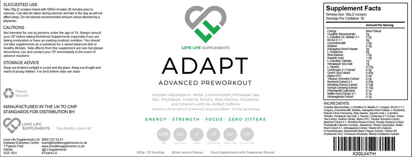 Adapt | Pre-Workout