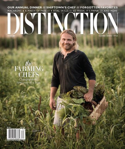 Vol. 39 Distinction Magazine 2018 Food Edition
