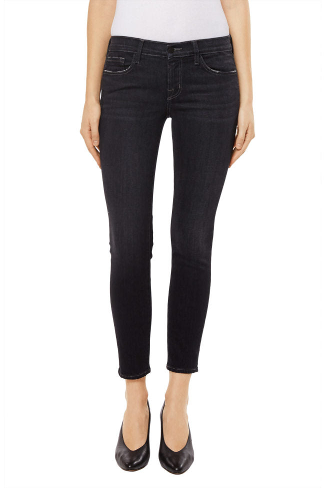 9326 Low Rise Crop Skinny in Silencia