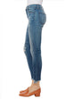 Alana High Rise Crop Skinny in Ardent