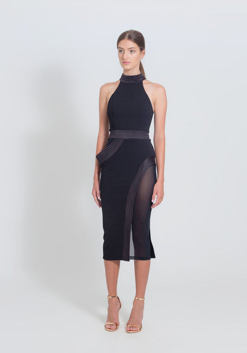 Embrace Dress in Black