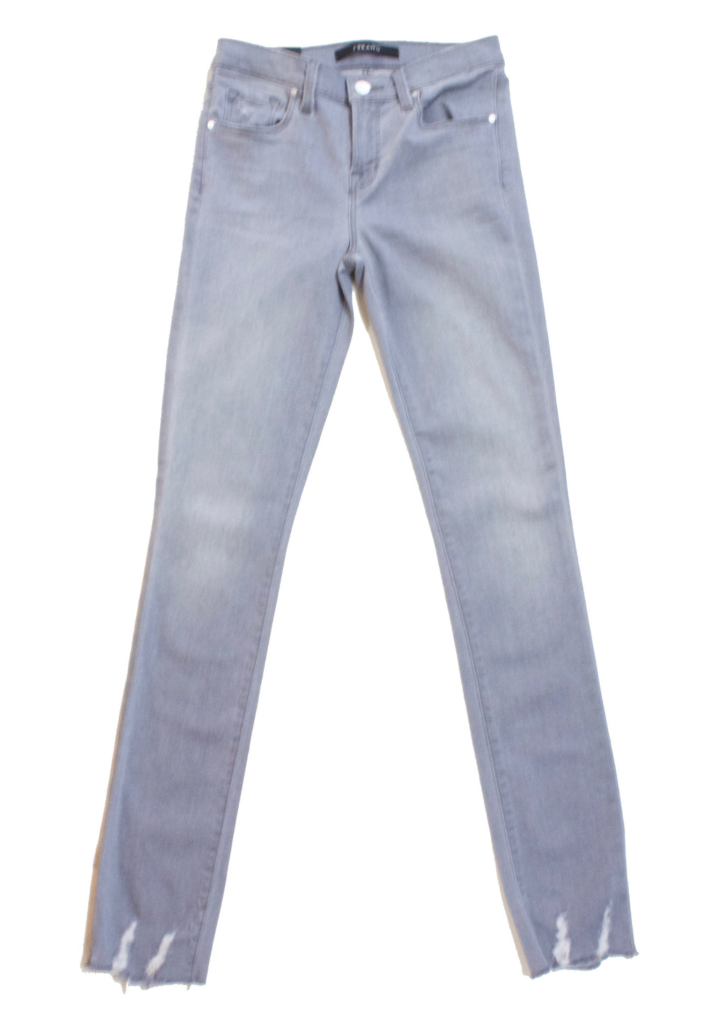 811 Mid Rise Skinny with Raw Hem in Yarn Dye Grey