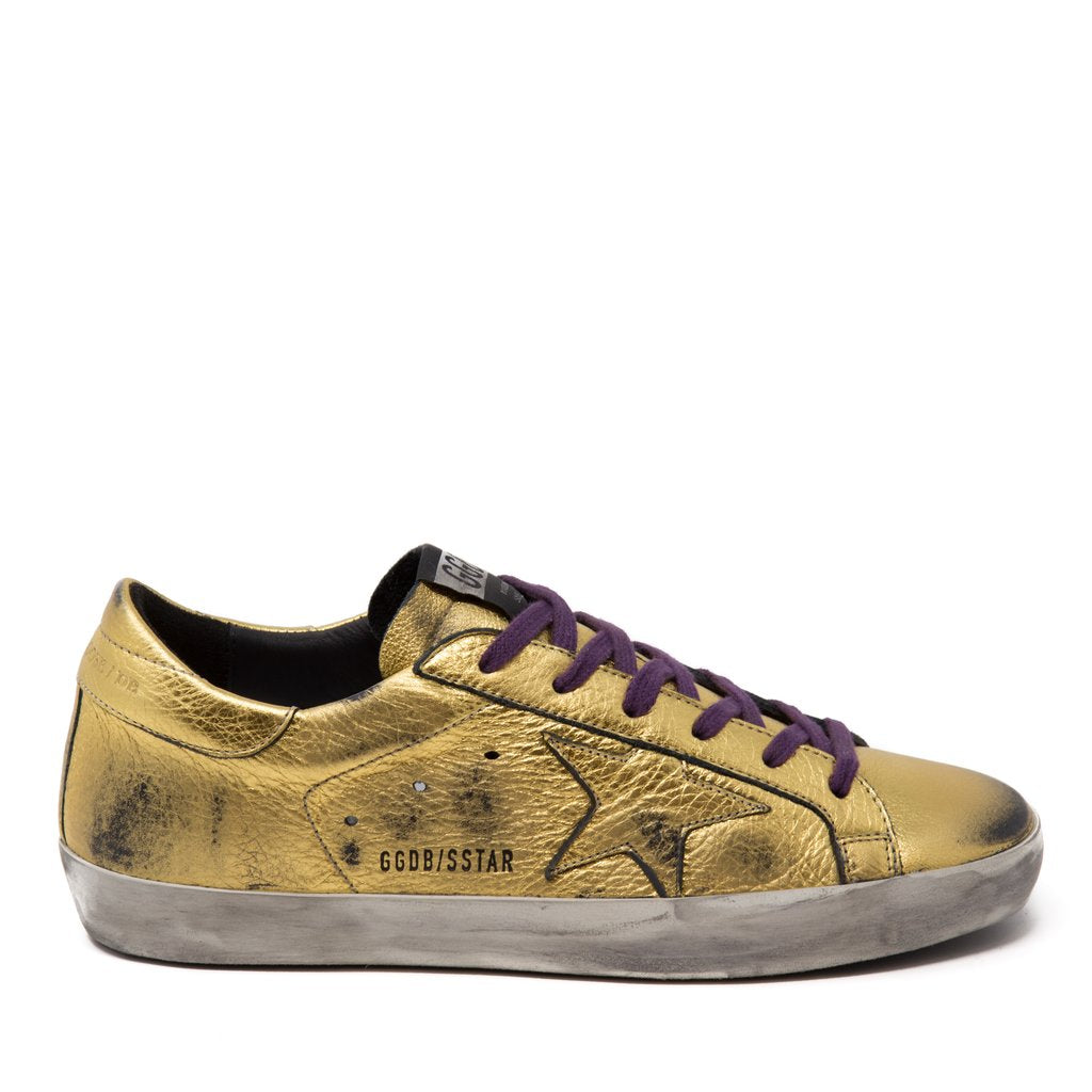 Sneaker Superstar in Gold Foil