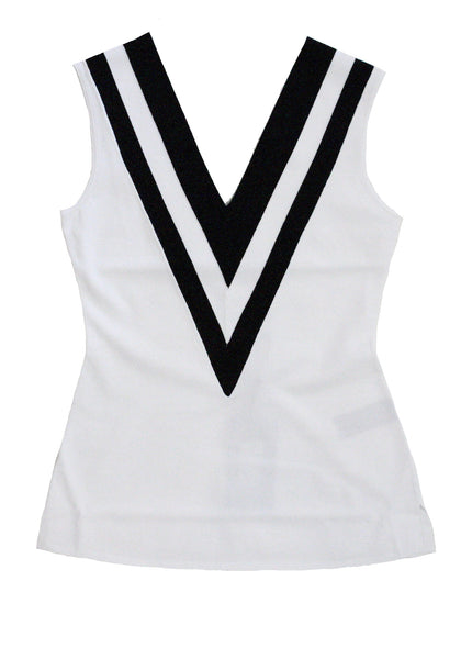 Daphne Tank in White