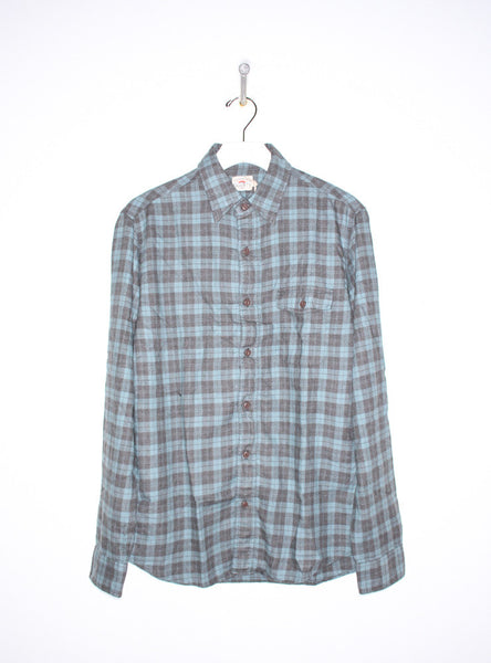 Lakeside Shirt in Teal/Grey