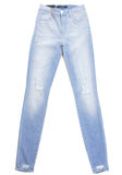 Maria Highrise Skinny  in Indigo Cast